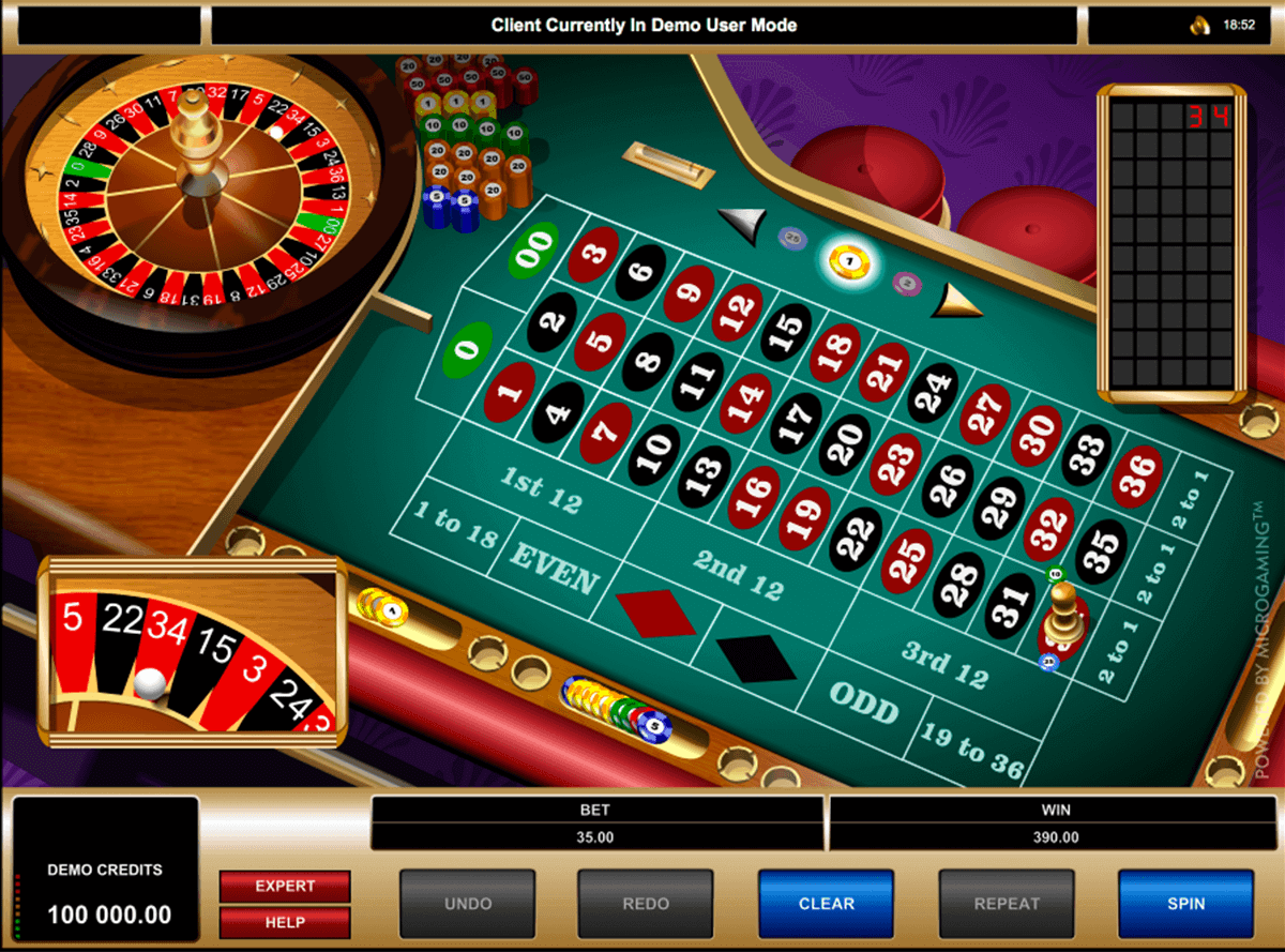 Microgaming French Roulette bruchi